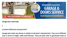 FAQs in Madeira Beach - Click here to download